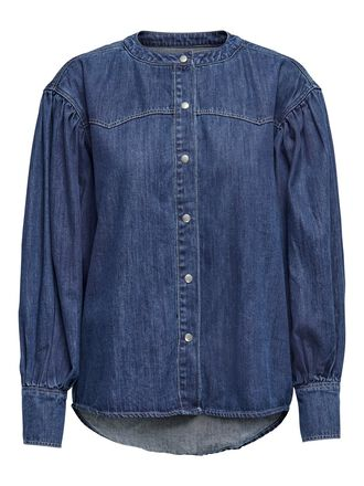 LOOSE FITTED DENIM SHIRT