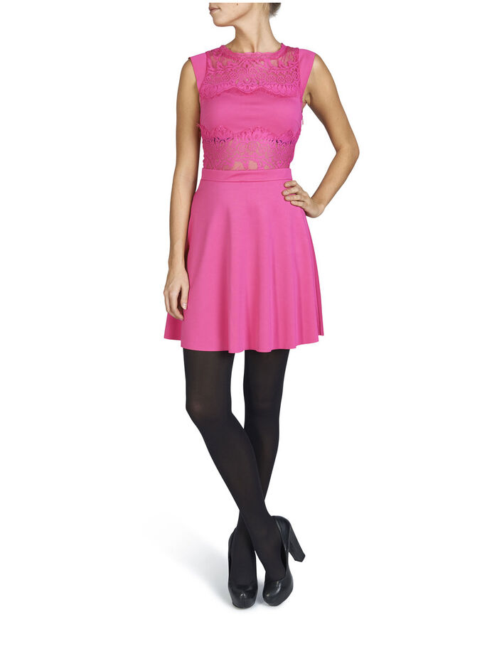 SLEEVELESS PARTY DRESS, Beetroot Purple, large