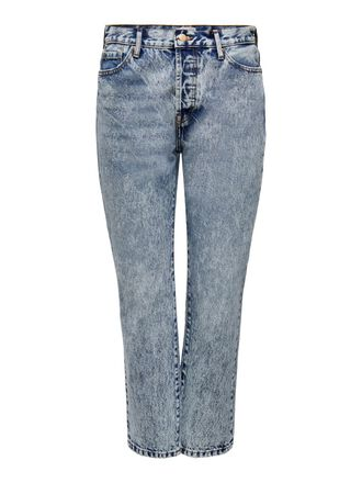 ONLFINE LIFE HIGH RISE ANKLE STRAIGHT FIT JEANS