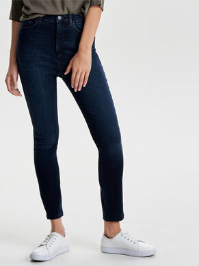 POSH HIGH WAIST ANKLE SKINNY JEANS