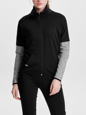 SWEAT- SPORTJACKE