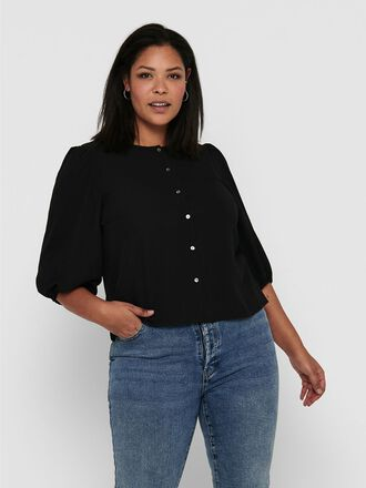CURVY PUFF SLEEVE SHIRT