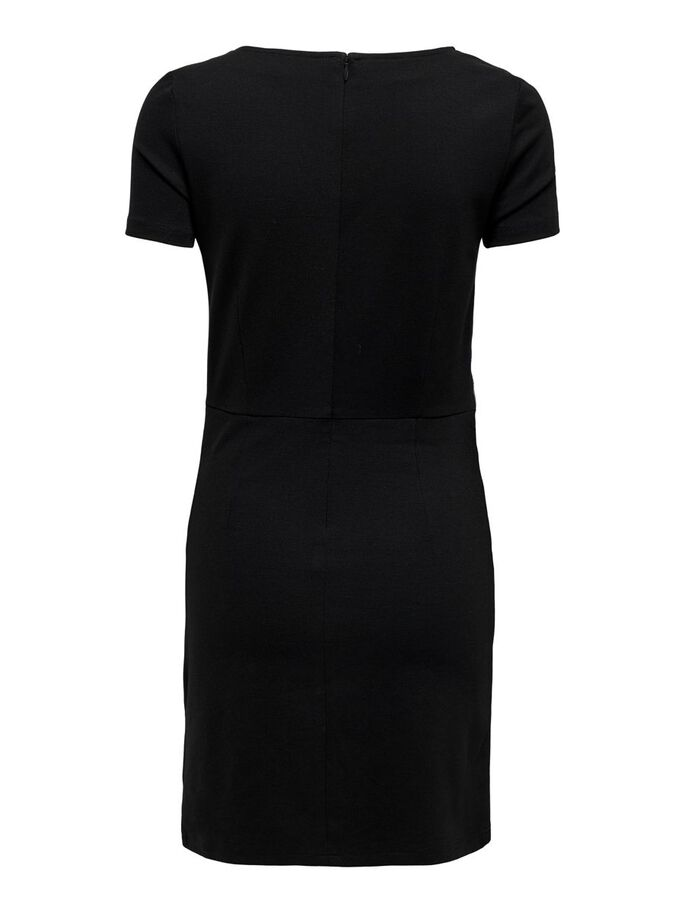DETAILREICHES KLEID, Black, large