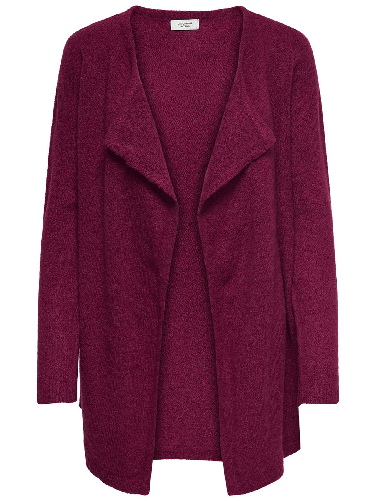 ONLY Drapy Knitted Cardigan Women Purple