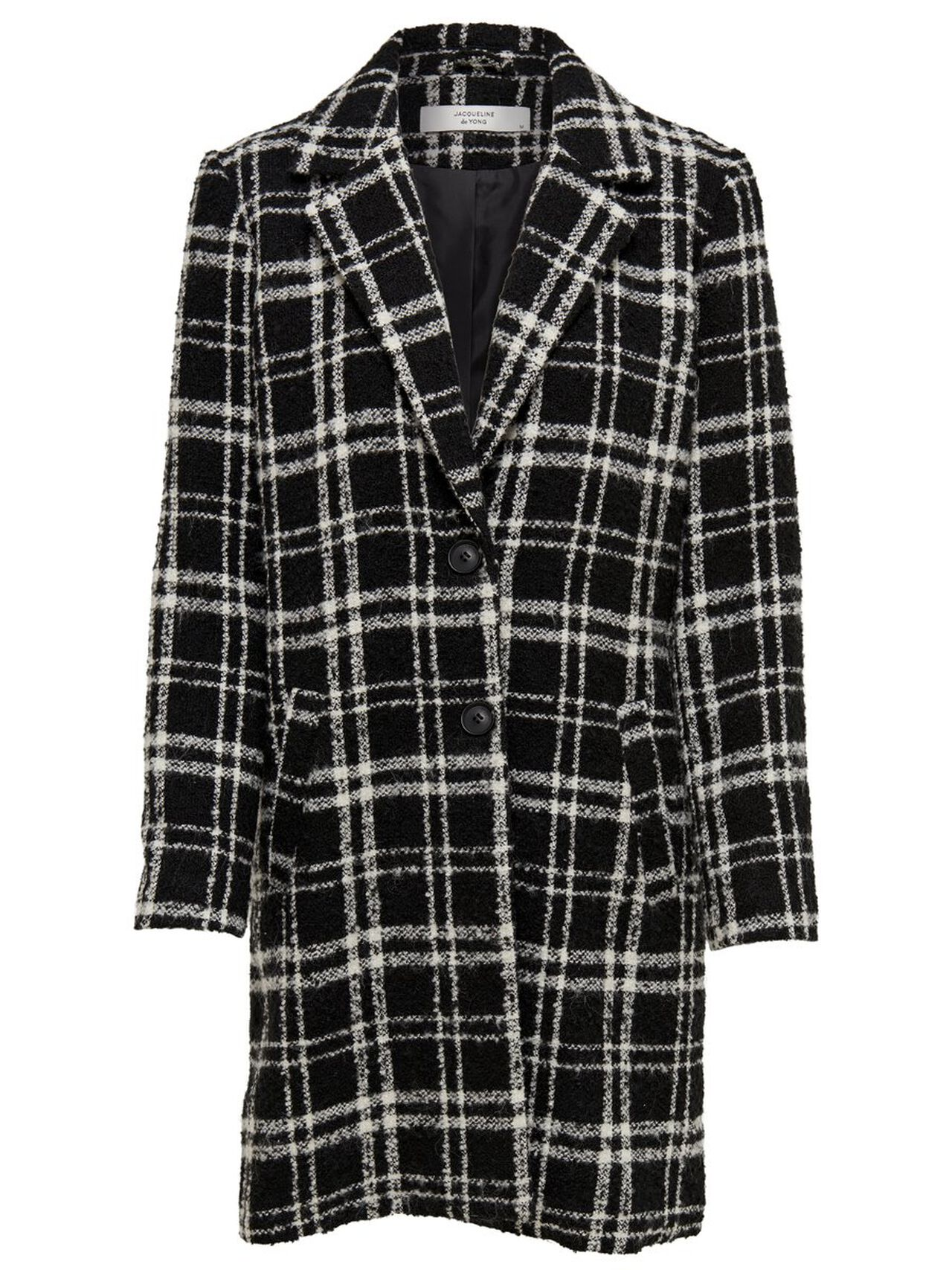 ONLY Checked Jacket Women Black