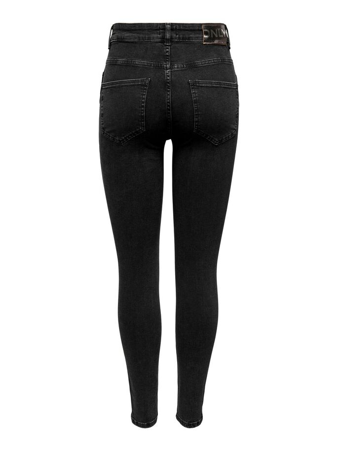 TALL ONLBOBBY ANKLE MID-RISE JEANS, Black, large