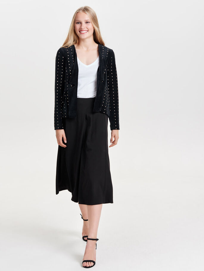 BESLAGNAGELS BLAZER, Black, large