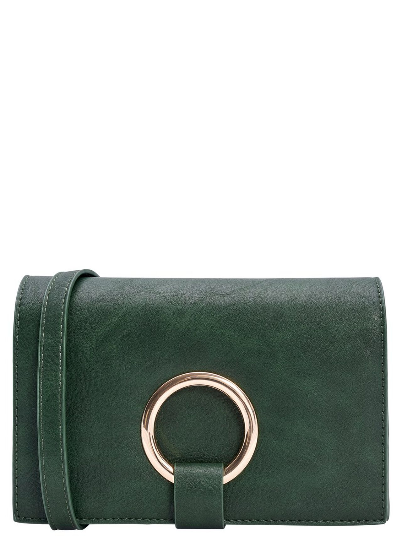 ONLY Leather Look Crossbody Bag Women Green