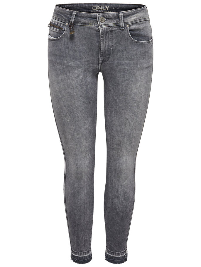 CARMEN REG ANKLE JEAN SKINNY, Medium Grey Denim, large