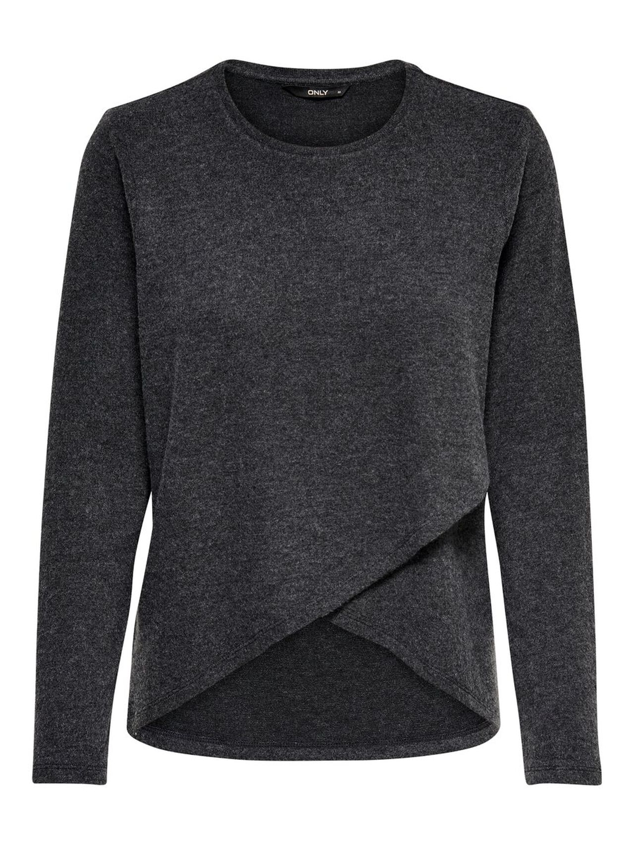 ONLY Long Sleeved Blouse Women Grey