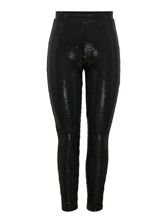 TIGHT FIT GLITTER TROUSERS