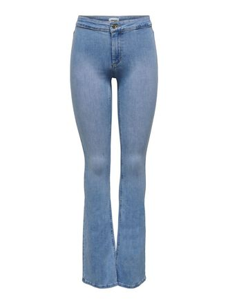 ONLBLUSH LIFE MID FLARED JEANS