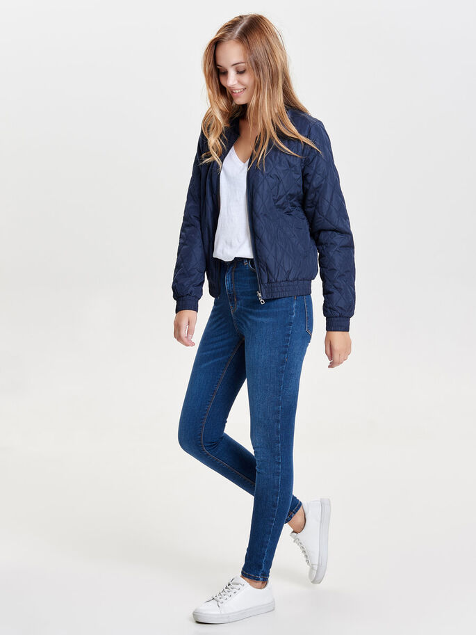 AVIATEUR VESTE, Navy Blazer, large