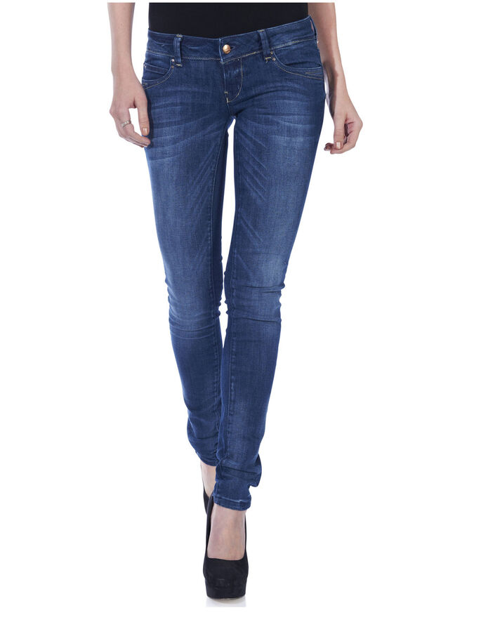 SKINNY SUPERLOW CORAL JEANS, DENIM, large