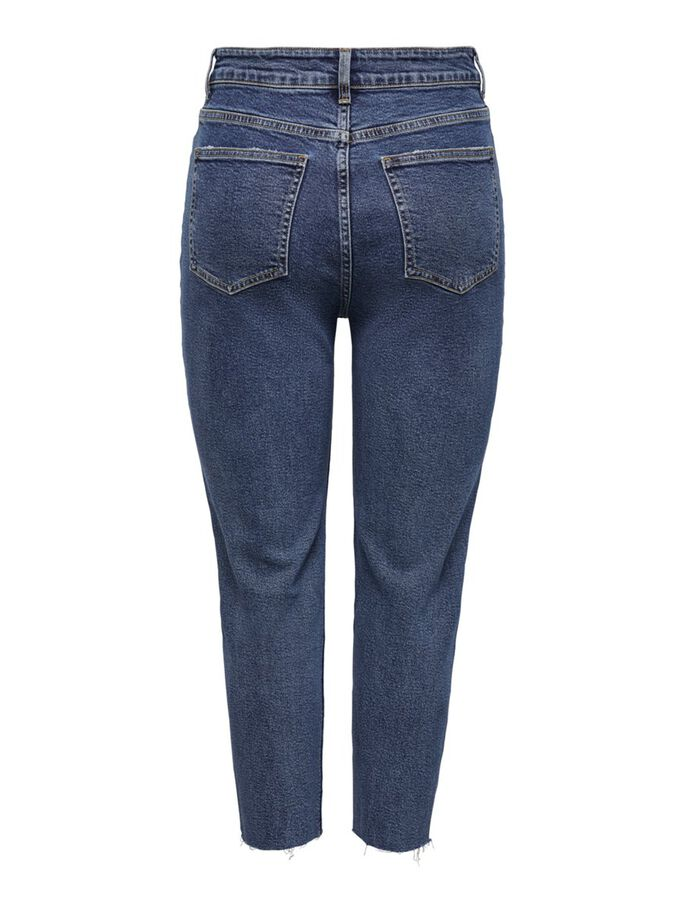 JDYKAJA LIFE HIGH JEANS STRAIGHT FIT, Light Blue Denim, large