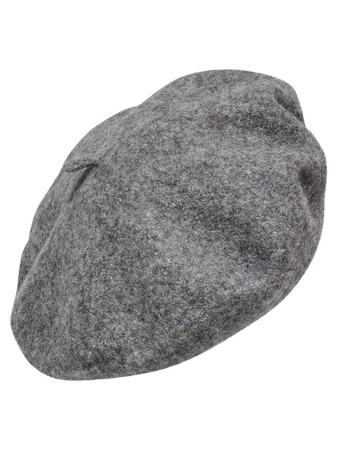 WOOL HAT, Light Grey Melange, large