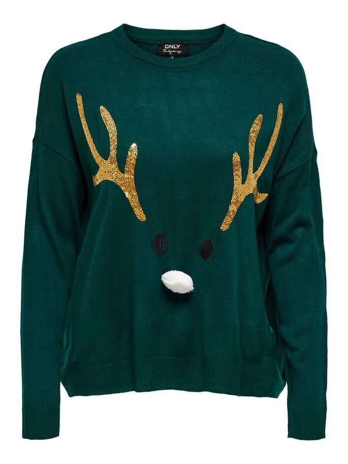 CHRISTMAS JUMPER, Ponderosa Pine, large