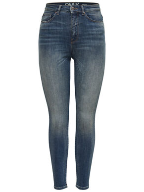POSH HW ANKLE SKINNY FIT JEANS
