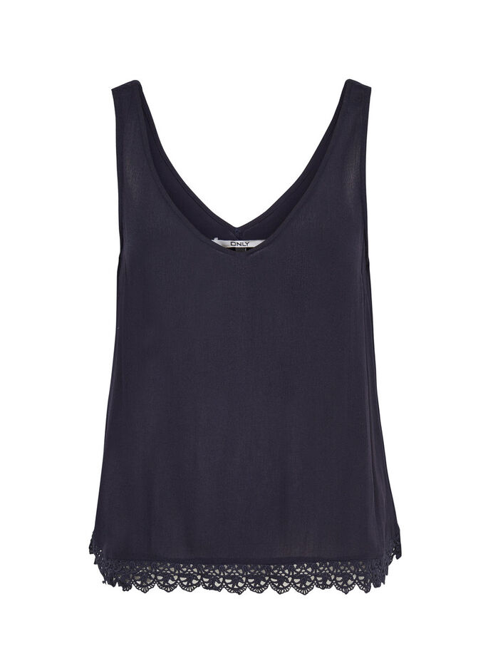 DETALJERET TANKTOP, Night Sky, large