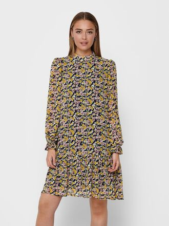 SHORT PRINTED DRESS