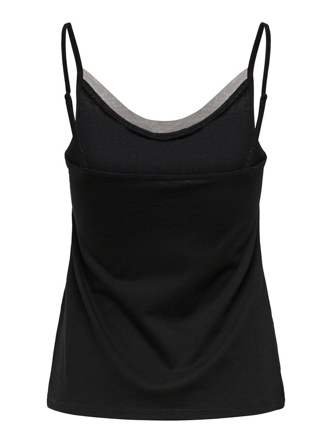 BASIC CAMI, Black, large