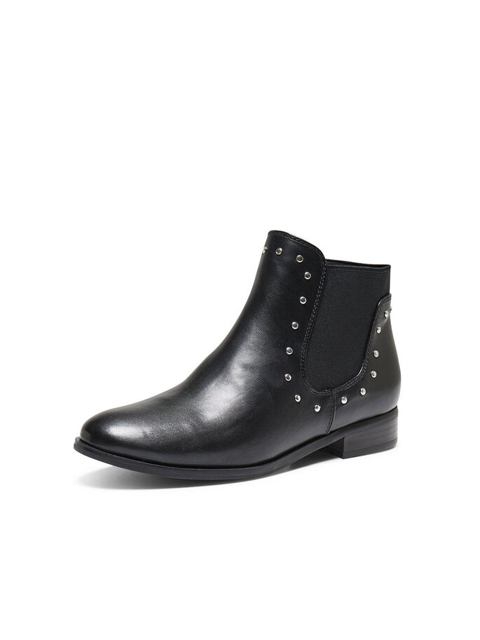 STUD LAARZEN, Black, large