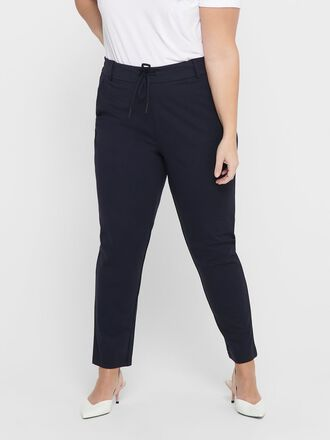 CURVY SOLID TROUSERS