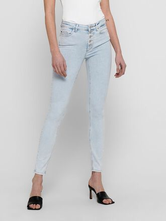 ONLBLUSH LIFE HW ANKLE SKINNY FIT JEANS