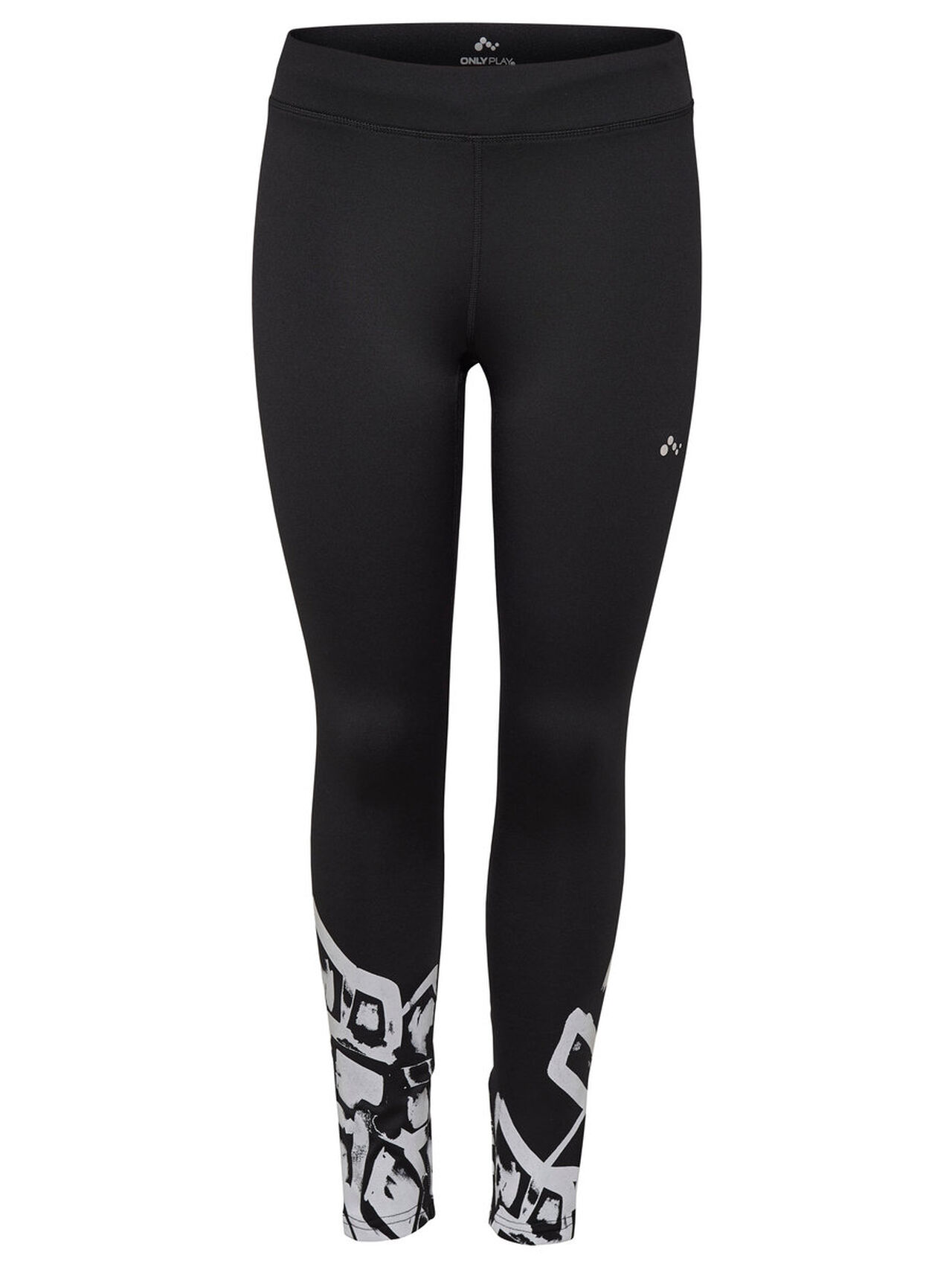 ONLY Brushed Running Tights Women Black