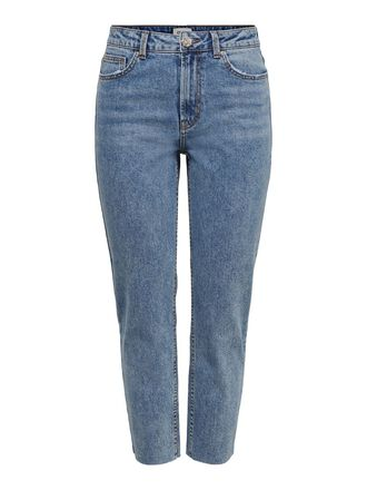 ONLEMILY HW CROPPED JEANS STRAIGHT FIT