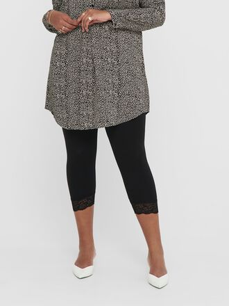 CURVY SPITZENDETAIL LEGGINGS
