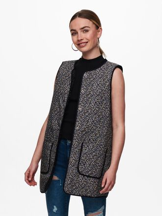 QUILTED LONG WAISTCOAT