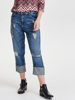 RBOY REG HOTCROP ANTI-FIT-JEANS