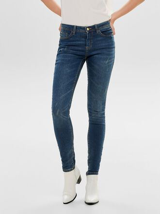 JDYMAGIC RW MEDIUM BLUE SKINNY FIT-JEANS