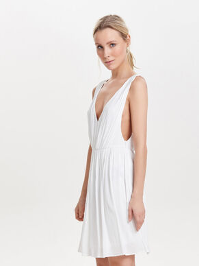 OPEN BACK SLEEVELESS DRESS