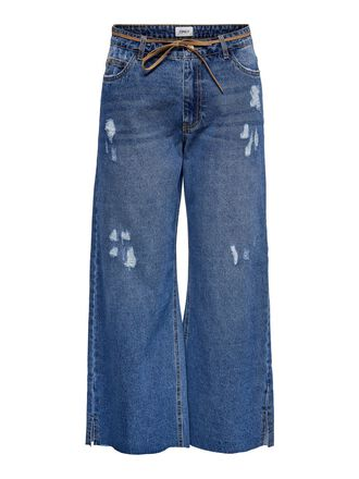ONLSONNY HW WIDE CROPPED JEANS