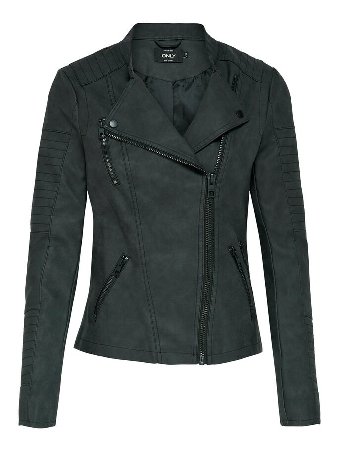 4afd7169 Leather look jacket | ONLY