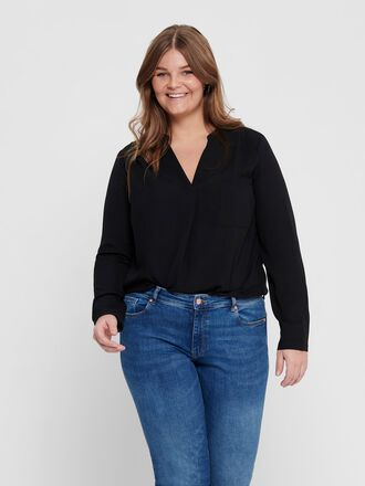 CURVY LOOSE SHIRT