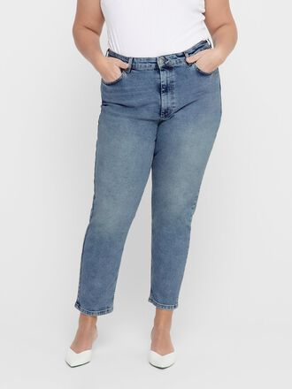 CURVY CARENEDA LIFE HW STRAIGHT FIT JEANS