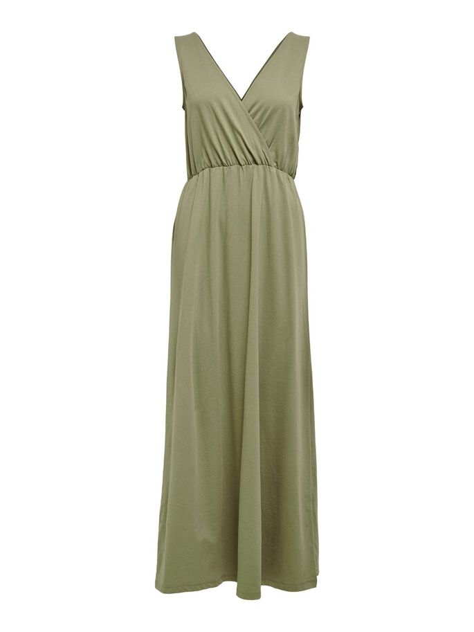 WRAP MAXI DRESS, Mermaid, large