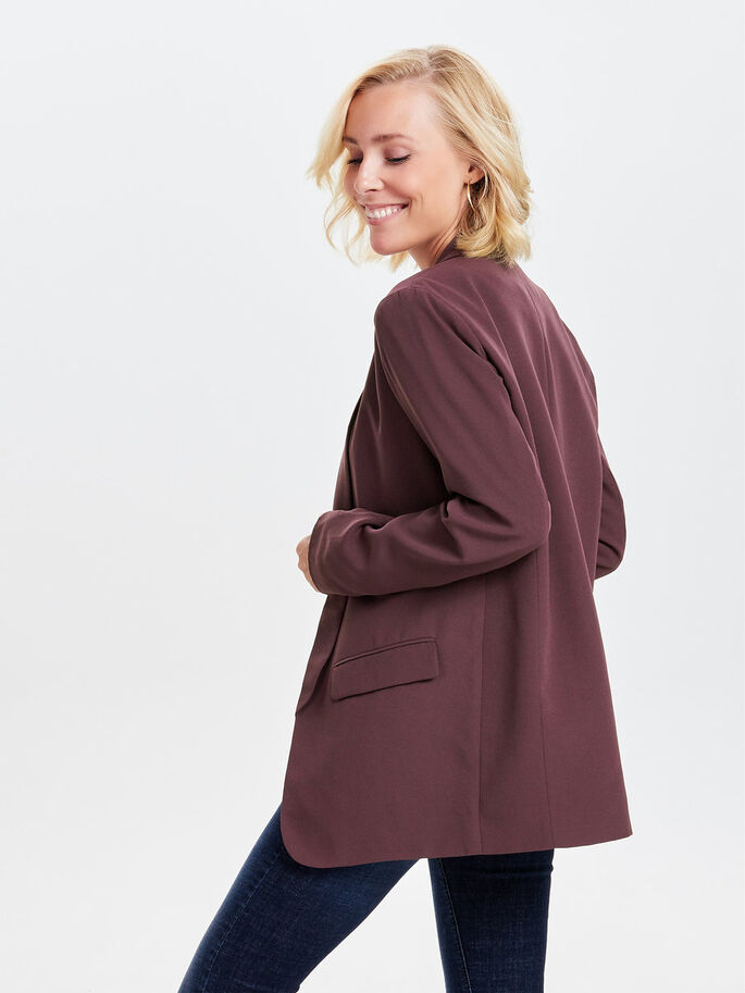 LARGO BLAZER, Fudge, large