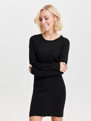 ZIP KNITTED DRESS