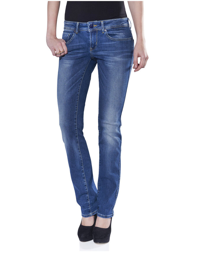 STRAIGHT LOW AUTO JEANS, DENIM, large