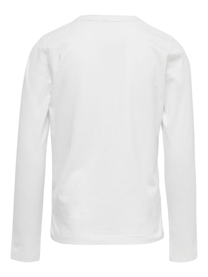 FOIL PRINTED TOP, Bright White, large