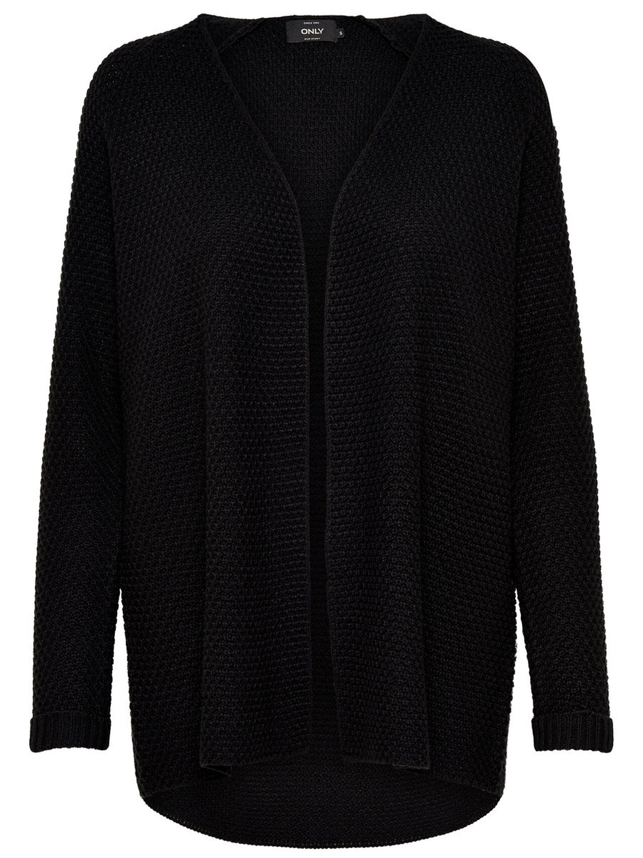 ONLY Loose Knitted Cardigan Women Black