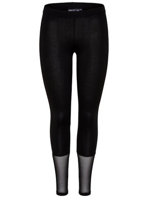 JERSEY MESH LEGGINGS