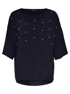 OVERSIZE SHORT SLEEVED TOP