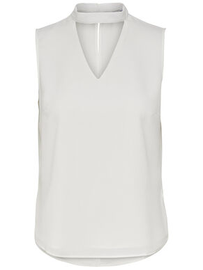 CHOKER SLEEVELESS TOP