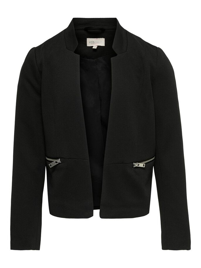 COURT OUVERT BLAZER, Black, large