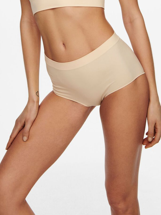 2-PACK SEAMLESS HIPSTER, Nude, large